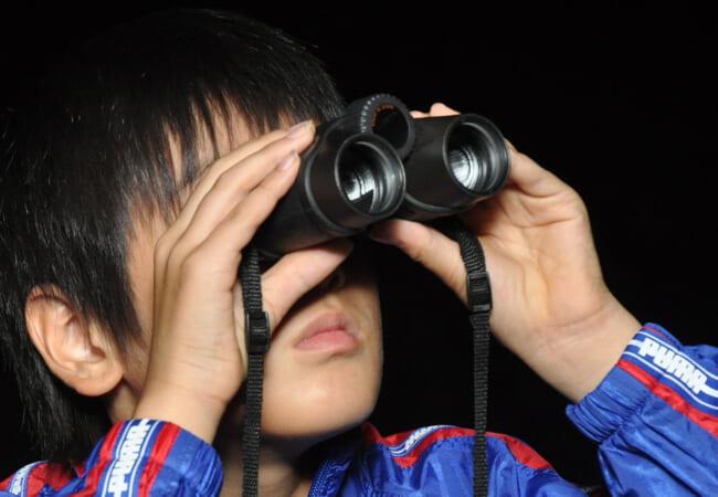 双眼鏡で天体観測をしよう