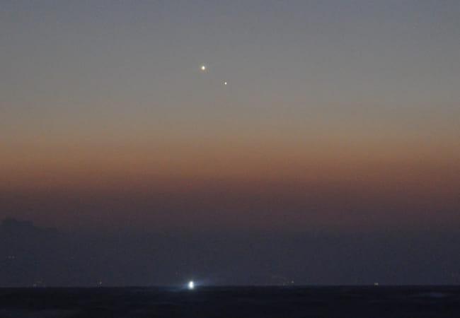 金星の動きを調べよう