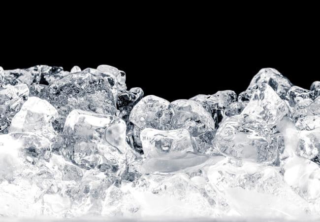 氷のでき方の観察