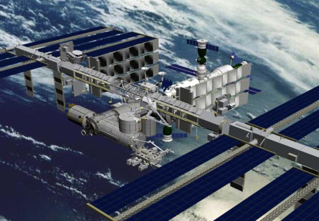 国際宇宙(こくさいうちゅう)ステーションを見よう