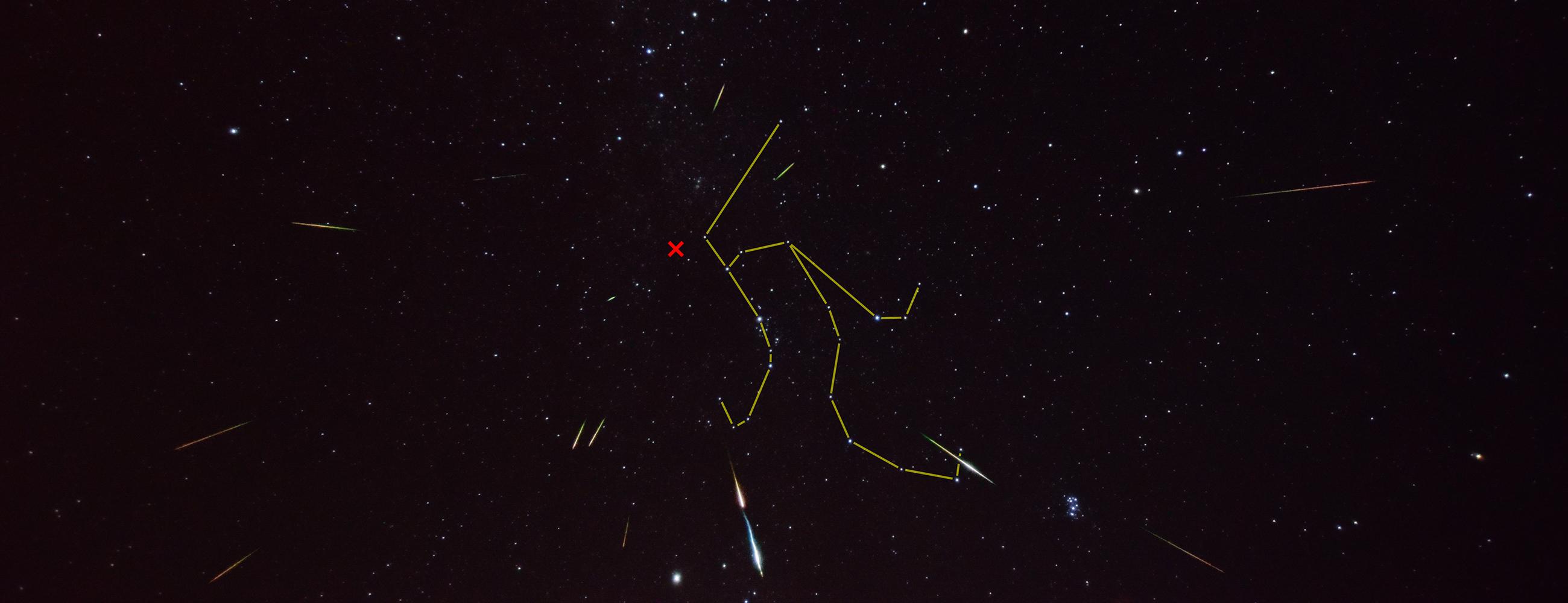 観察 ペルセウス座(ざ)流星群(りゅうせいぐん)を観察しよう