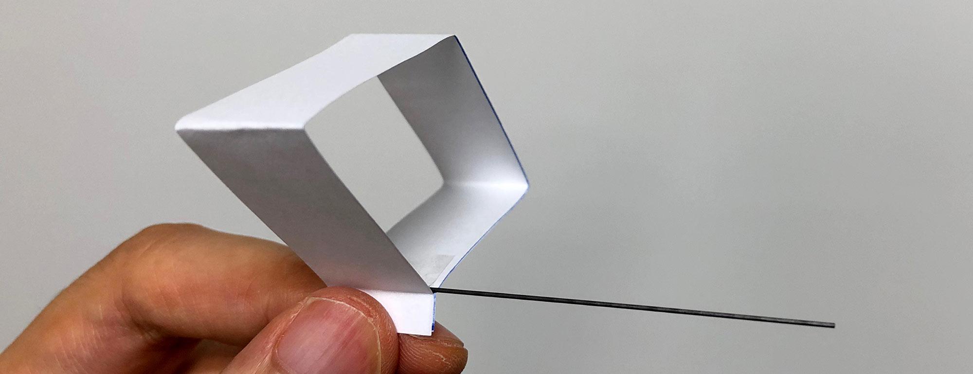 実験 ミニミニグライダー
