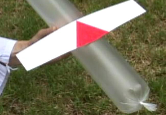 傘(かさ)ぶくろ飛行機・ロケット