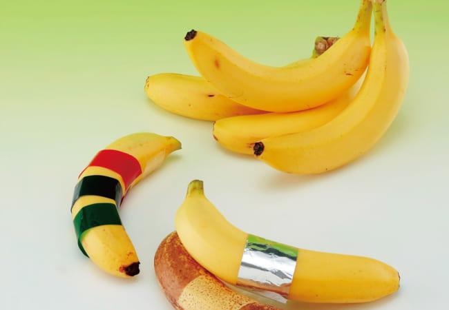 バナナも日焼けをするの?