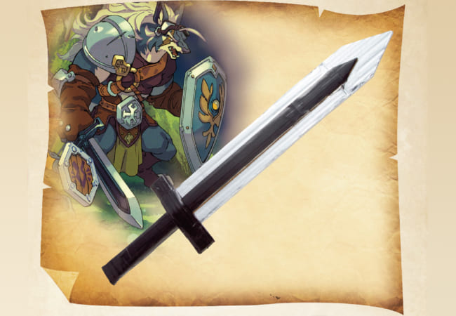 ダンボールで作る「はがねの両刃剣(りょうばけん)」