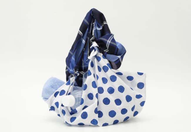 【動画付き】スカーフを使ったマイバッグ