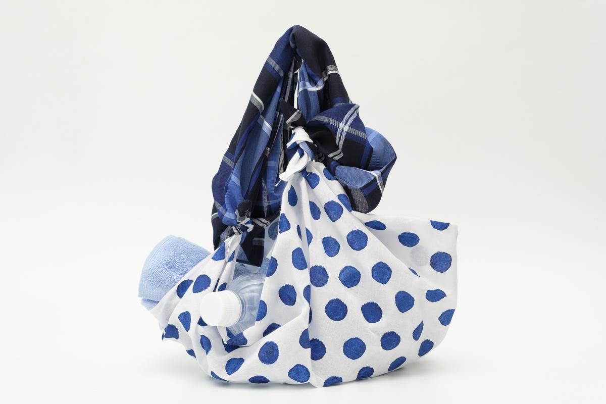 工作 【動画付き】スカーフを使ったマイバッグ