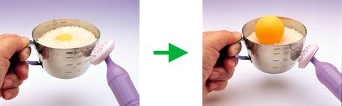 【100円ショップ大実験】ブルブル振動(しんどう)で科学マジック「ピンポン玉浮上(ふじょう)」