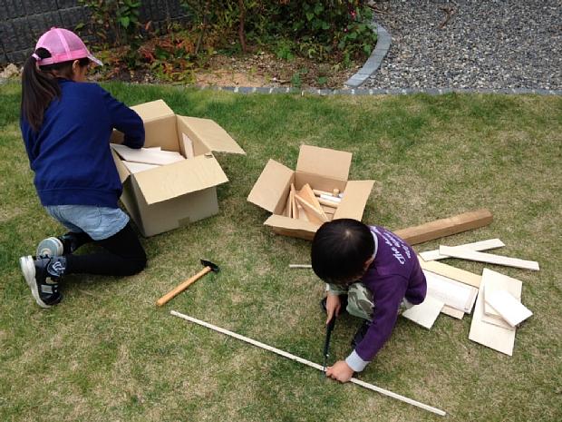子どもといっしょに、木工DIYに挑戦!