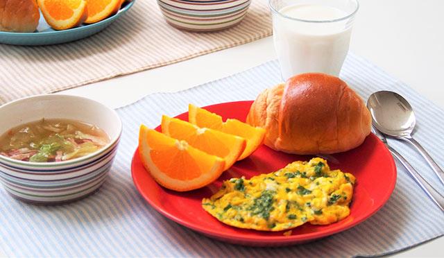 手早く作れる! 朝食バランスメニュー【パン編】/元気な子どもが育つ毎日のごはん