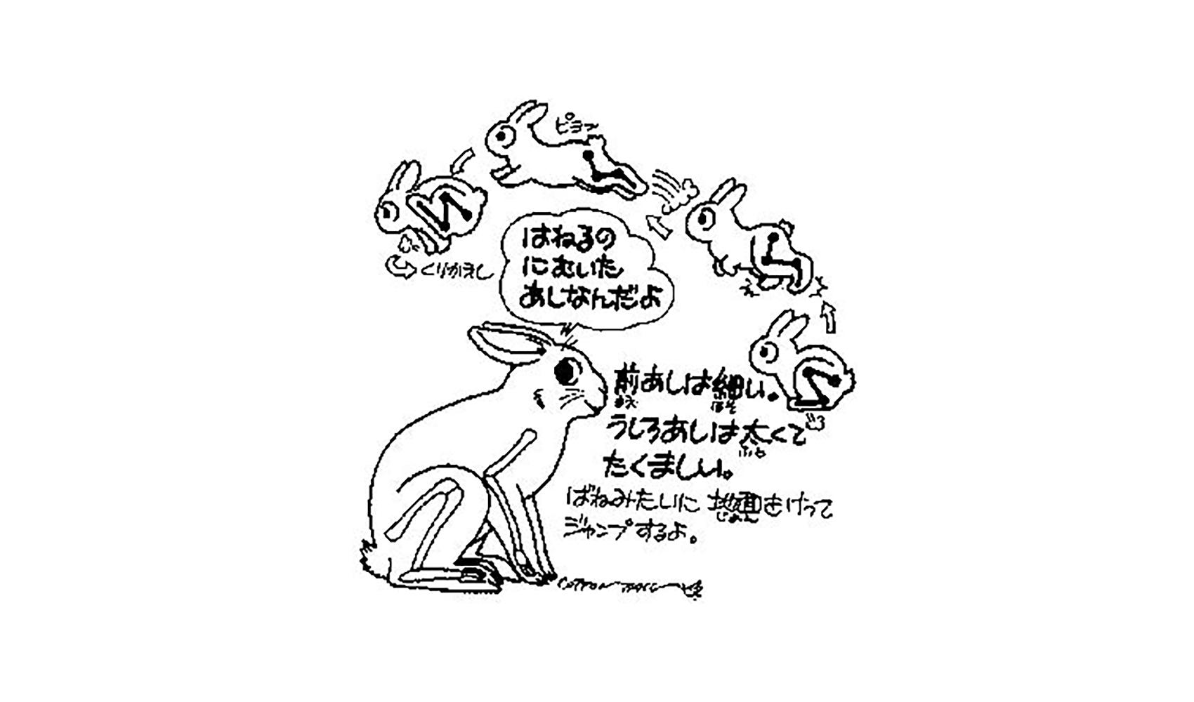 ウサギはなぜはねるの