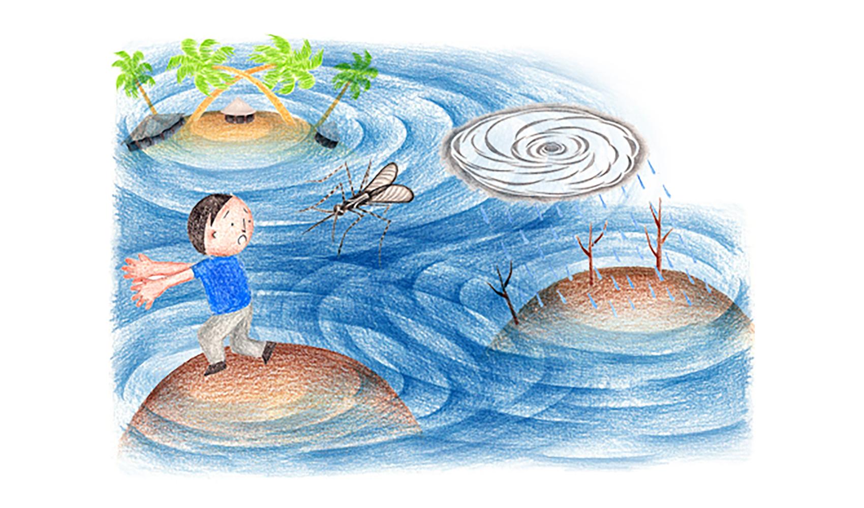 地球温暖化が進むと、どんなことが起こってくるのですか?