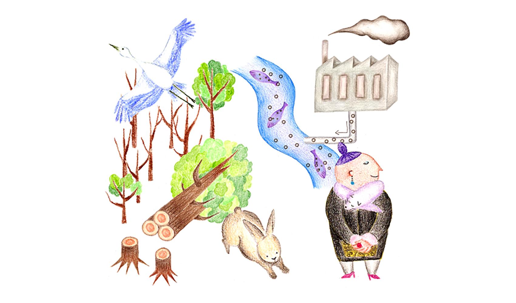動物や植物がどんどん絶滅しているそうですが、なぜですか?