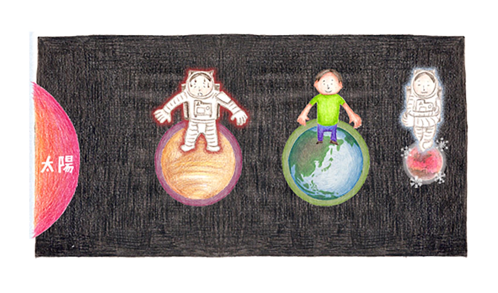 地球だけに生き物がいるのはなぜですか?