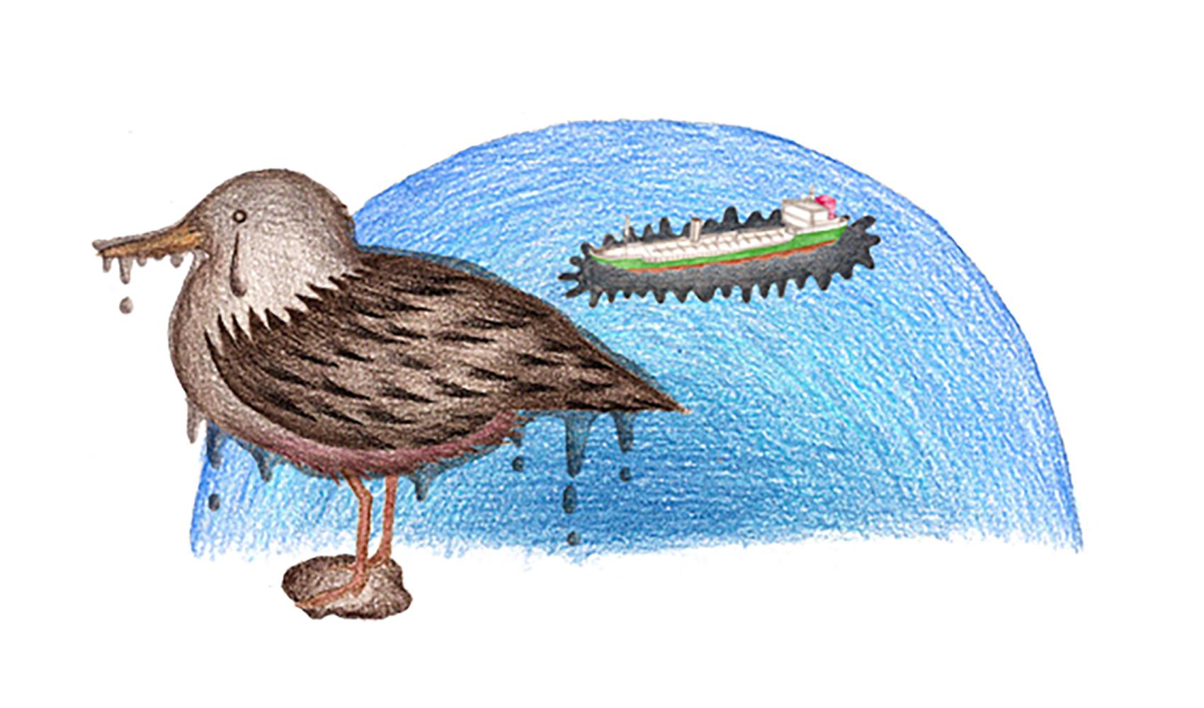 海や川のよごれで、動物や魚が死ぬことはありますか?