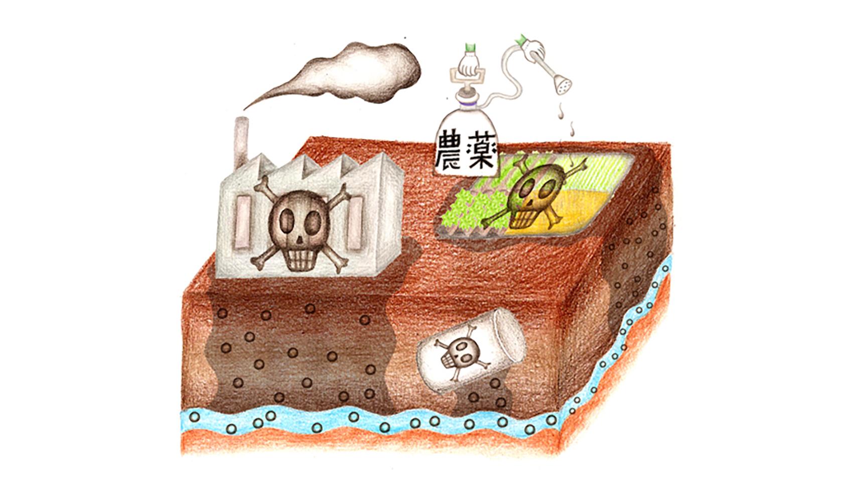地下水もよごれているのですか?