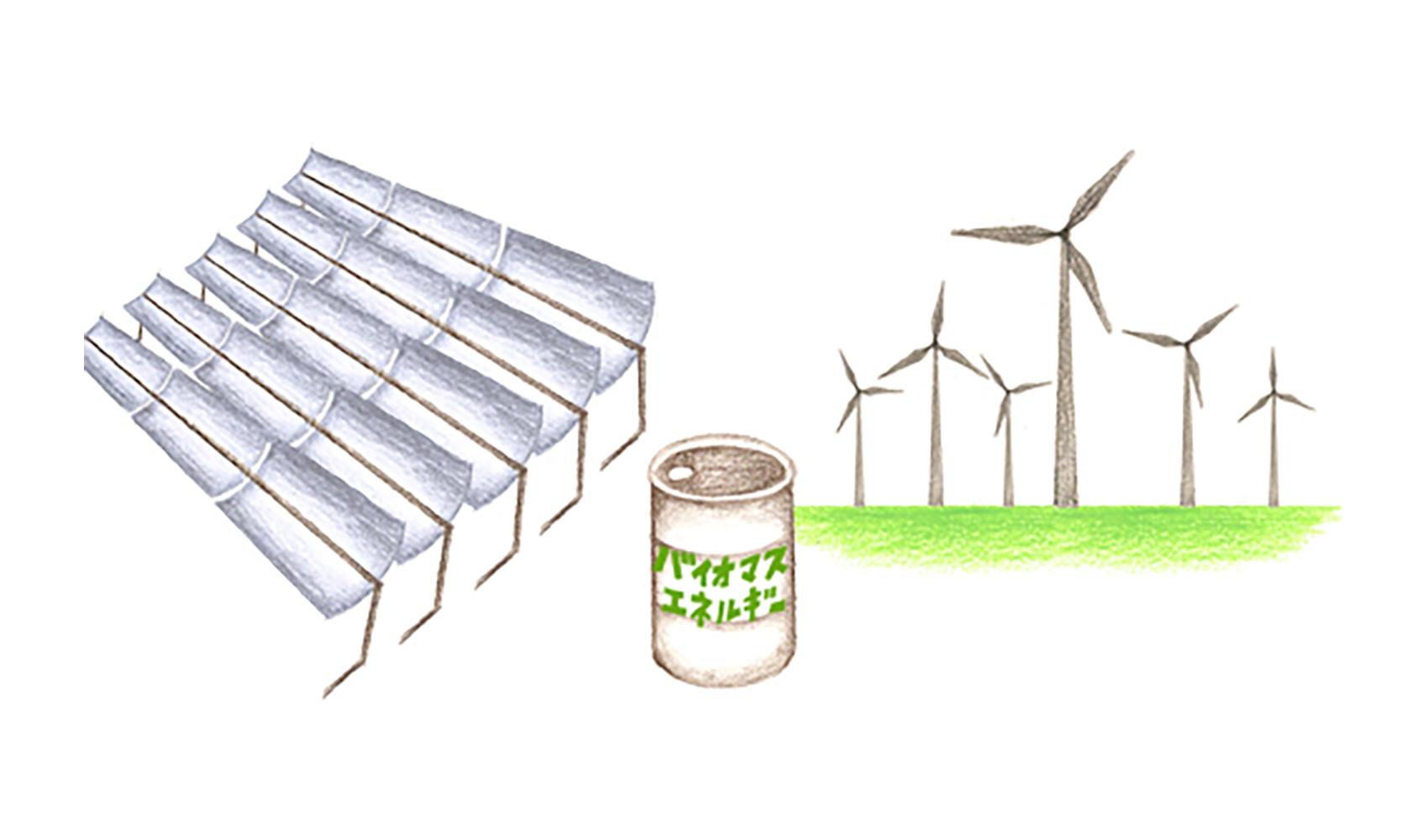 新エネルギーには、どんなものがありますか?