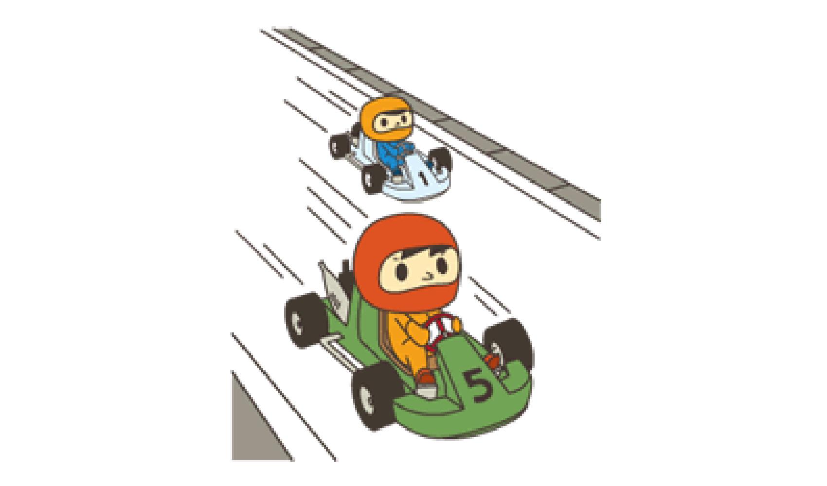 カートドライバー国内ライセンス(ジュニアB)
