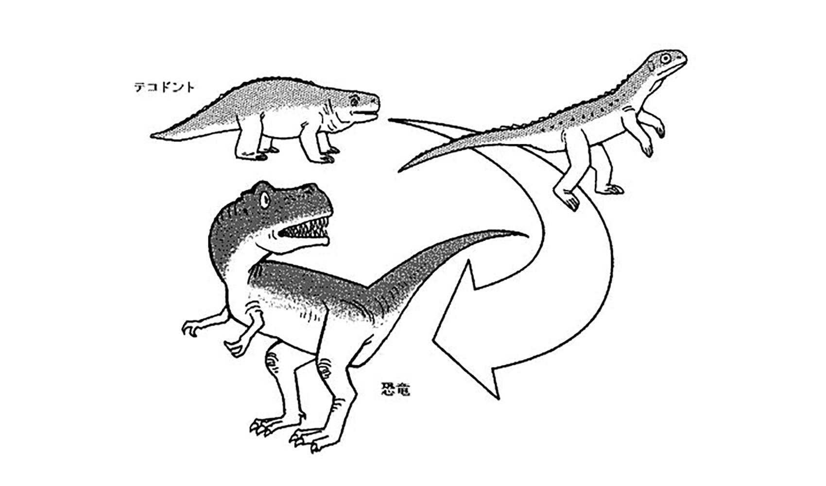 恐竜はどうして生まれたの
