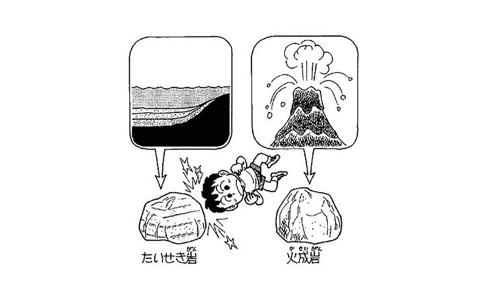 石や岩はどうしてかたいの