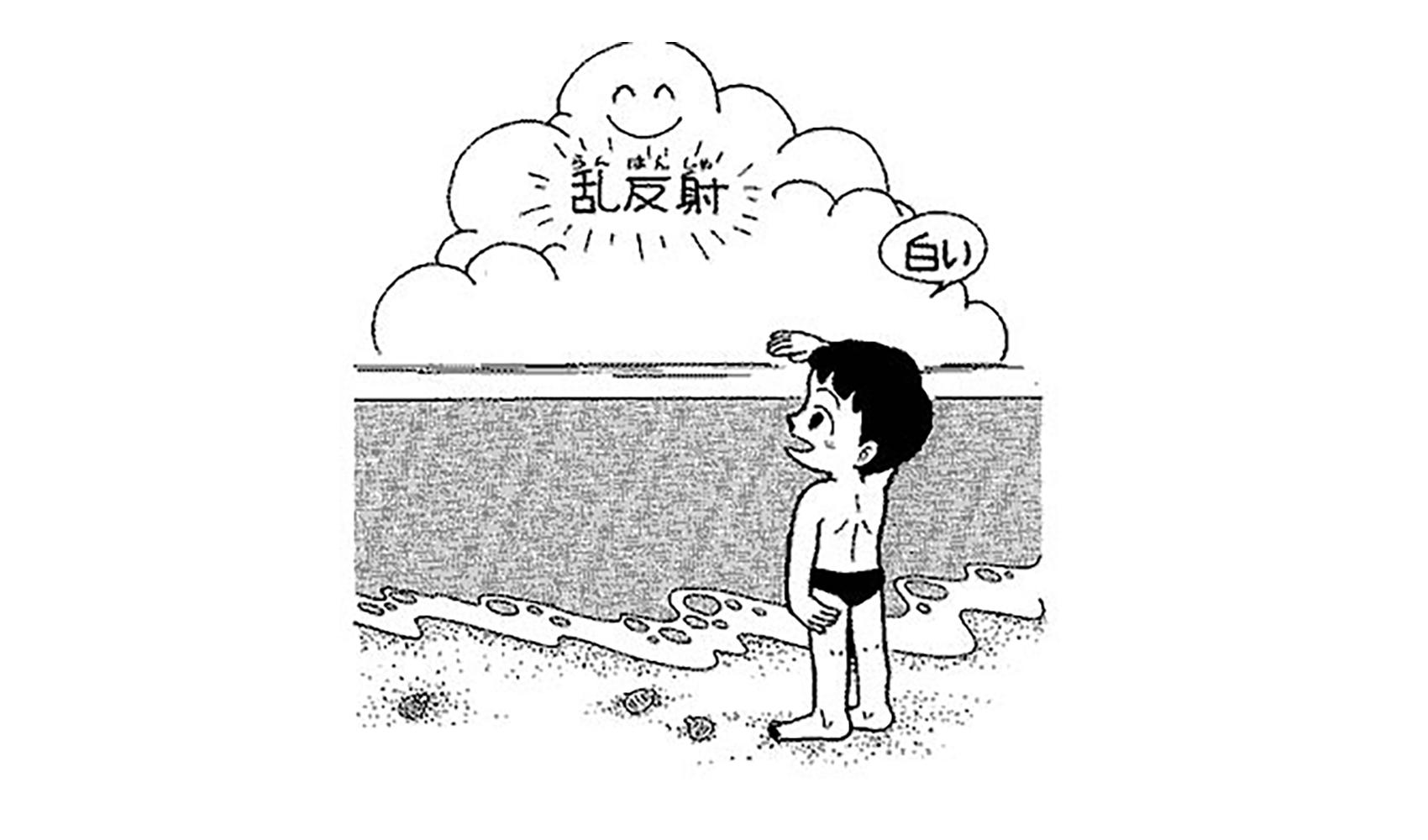 雲はどうして白いの