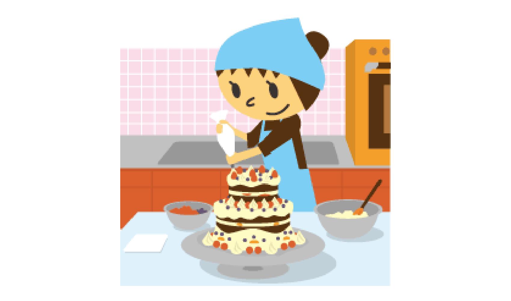 ケーキデザイナー