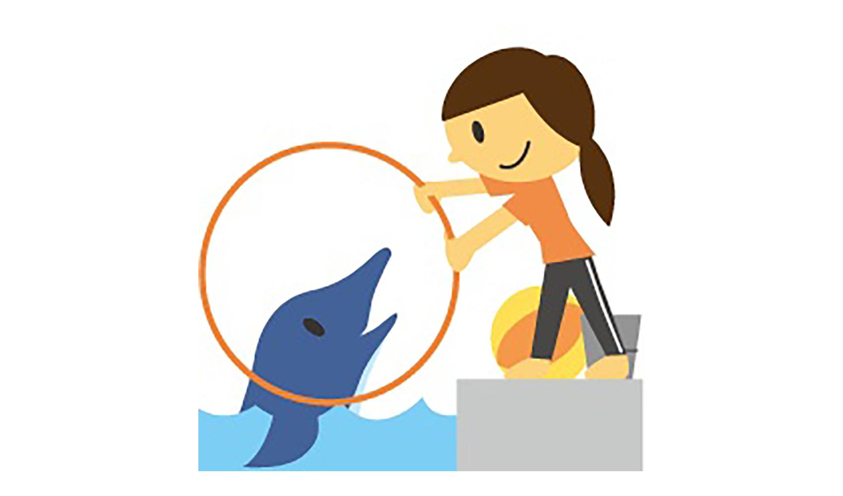 イルカの調教師