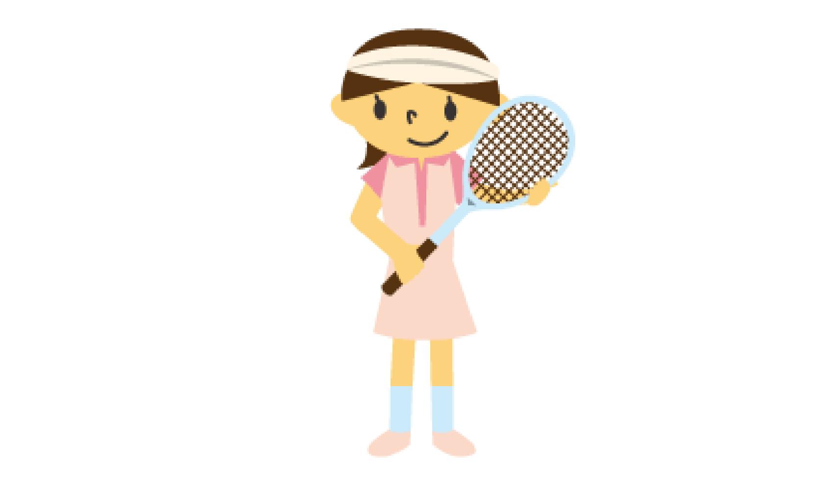 プロのテニス選手