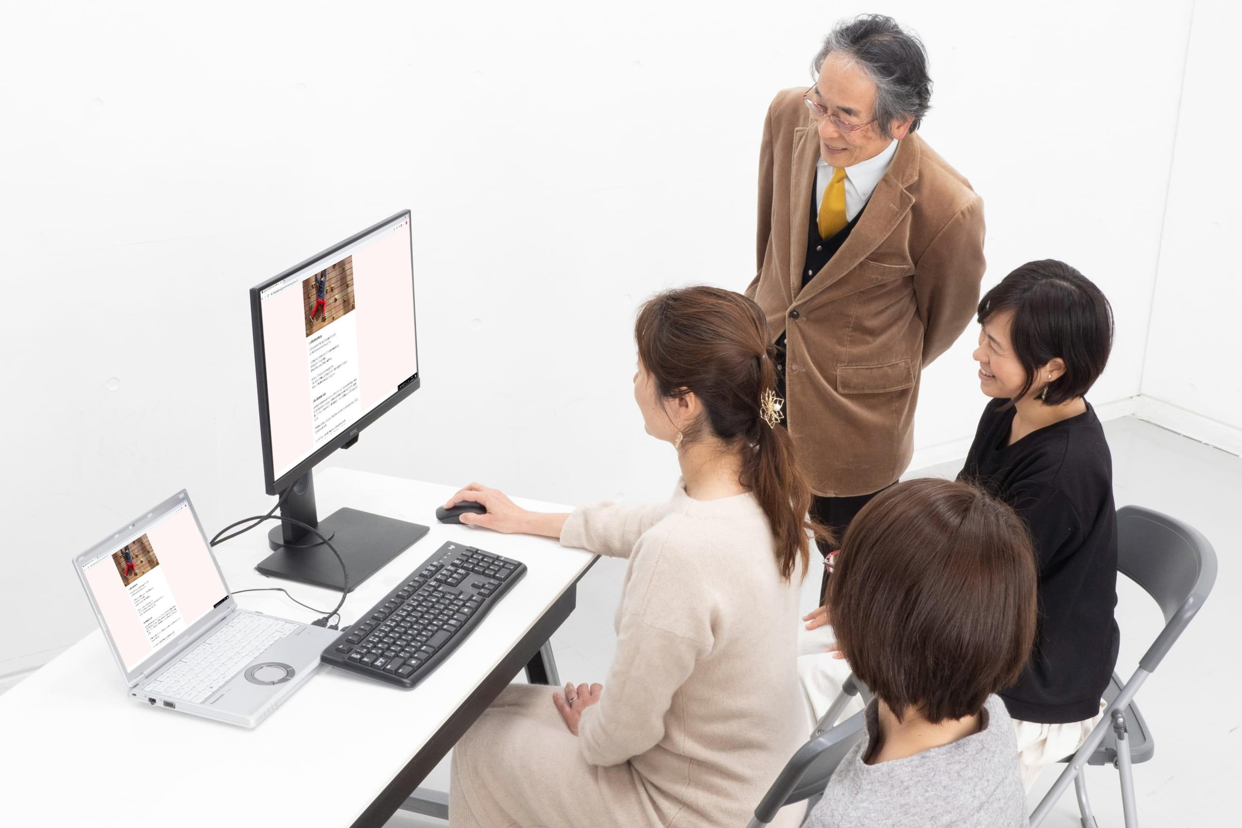 教育評論家×保護者座談会「家庭のパソコン環境は、アイケアモニターがカギ!」
