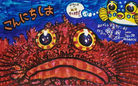 さかなクン画伯が描いたギョ介類の作品が大集合!『さかなクンのギョ苦楽展』が笠間日動美術館で開催中!
