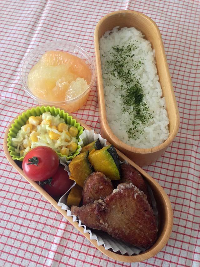 カツオのカレー風味から揚げ弁当/元気な子どもが育つ毎日のごはん【第2回】