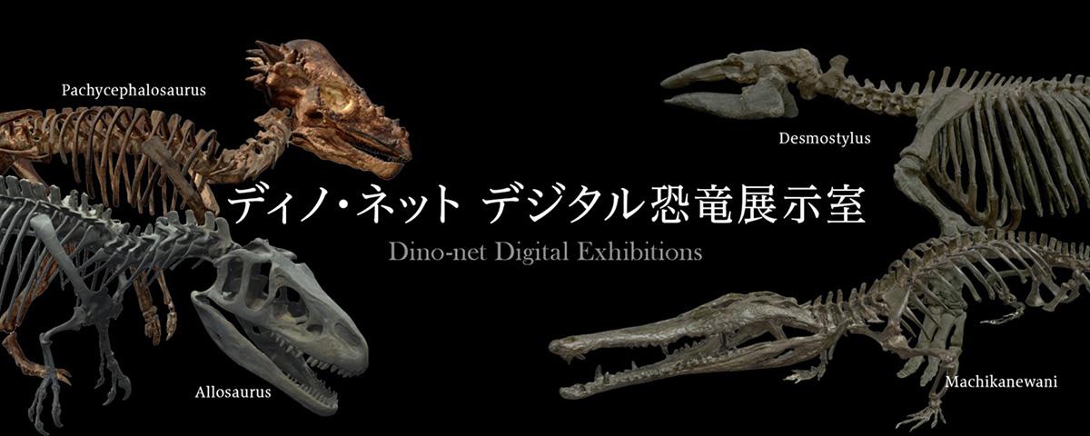 迫力ある恐竜の化石を自宅にいながら見ることができる「ディノ・ネット デジタル恐竜展示室」が公開!